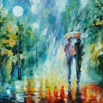 Leonid Afremov Summer Rain Art Print Sale