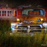 Light Painting Camera Raw Post Production Old Chevy Caryn Esplin Fine