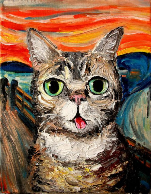 Lil Bub Meets Scream Sagittariusgallery