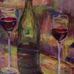 Limited Edition Giclee Print Pinot Noir Wine