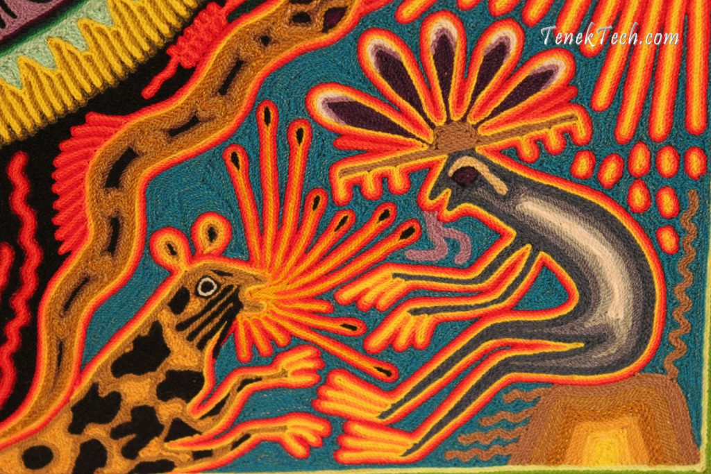 Living Vancouver Canada Mexican Art Huichol Ubc Irving Barber