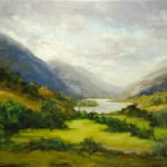 Loch Shiel Scotland Landscape Oil