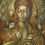Lord Buddha Art Paintings Sale Oil Canvas