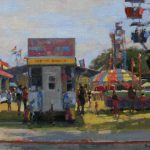 Lost Coast Daily Painters Carnival Fortuna Rodeo Jim