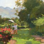 Lost Coast Daily Painters Descanso Gardens Demo Jim