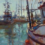 Lost Coast Daily Painters Fishing Boats Jim