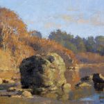 Lost Coast Daily Painters Late December Light Little River Jim