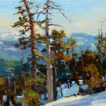 Lost Coast Daily Painters Snow Sunlight Jim