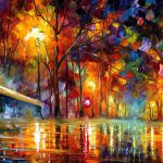 Lost Love Palette Knife Oil Painting Canvas Leonid