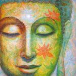 Lotus Meditation Buddha Painting Sue