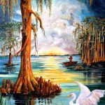 Louisiana Bayou Painting Diane