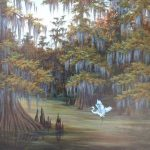 Louisiana Swamp Scene