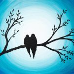 Love Birds Painting Lola