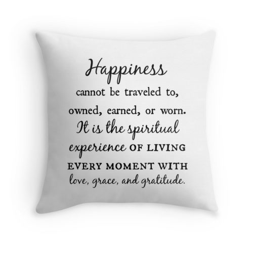 Love Grace Gratitude Throw Pillows Lolabella
