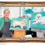 Loves Painting Dogs