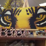 Lsu Tiger Eyes Painting Canvas