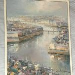 Lucien Delarue French Rice Gauche Oil Painting Sale