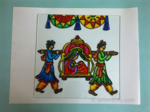 Make Glass Painting
