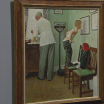 Making Norman Rockwell Famous Paintings Cbs