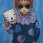 Margaret Keane Screen Used Reproduction Painting