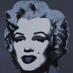 Marilyn Monroe Black Print Andy Warhol
