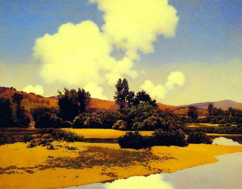 Maxfield Parrish Fantasy Romantic Painter Tutt Art Pittura Scultura Poesia