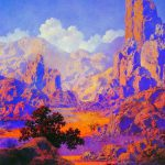 Maxfield Parrish Golden Age Illustrator Tutt Art Pittura Scultura Poesia