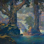 Maxfield Parrish Present