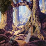 Maxfield Parrish Romantic Painter Illustrator Tutt Art Pittura Scultura Poesia