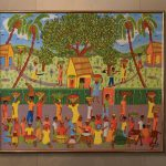 Mesidor Haitian Oil Painting Ark Antiques