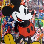 Mickey Mouse Oil Paper Denis