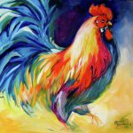 Mister Show Rooster Art Marcia
