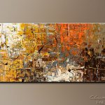 Modern Abstract Painting Sale More Merrier Original Art Paintings