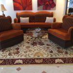 Modern Art Deco Sofa Couch Two Chairs Set Living Room Furniture Custom Made
