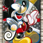 Modern Art Disney Mickey Mouse Deco Oil Painting Print Canvas Poster