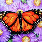 Monarch Butterfly Painting Angel Egle