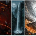 Mondo Richard Lord Rings Trilogy Print Set Released Comic
