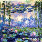 Monet Water Lilies Oil Painting
