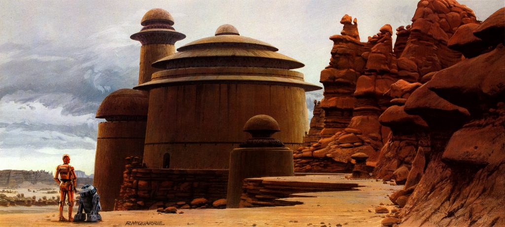 Monster Brains Ralph Mcquarrie Star Wars