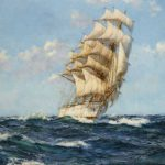 Montague Dawson Fair Wind Painting Print