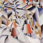 Morning Village After Snowstorm Kazimir Malevich