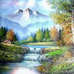 Most Expensive Bob Ross Painting Best Value Paintings Michelle