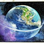 Mother Earth Art Original Painting