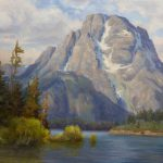 Mountain Landscape Painting Budget Your Canvas