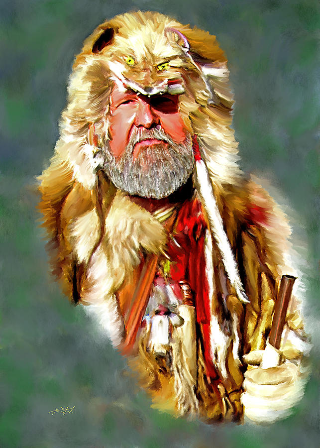 Mountain Man Painting Tim