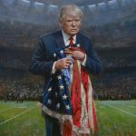 Must New Painting Donald Trump Very