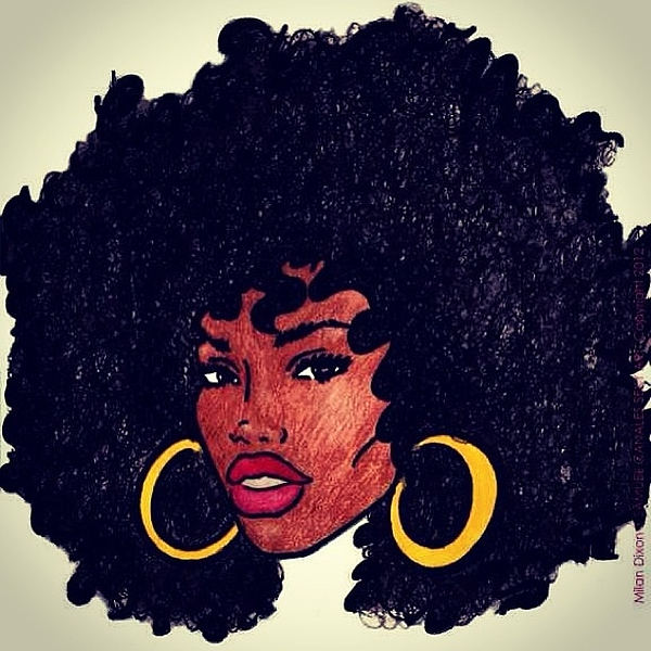 Natural Afrocentric Afro Beautiful Photograph Jim