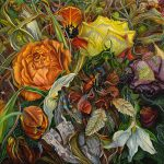 Natural Disguise Paintings Dense Gardens Judy