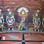 Navajo Painting Blessing Sandpainting Native American Arts Crafts Wholesale