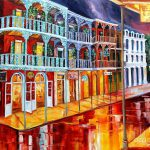 New Orleans Reflections Red Painting Diane